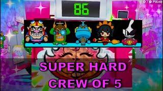 WarioWare Get It Together: Super Hard - Crew of 5