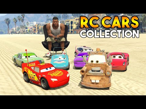 GTA 5 : FINDING AND COLLECTING EPIC RC CARS FROM CARS 3! |