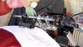 Installing Grip Heaters On A Yamaha Fz1