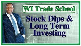 Tyrone Jackson Stock Dips & Long Term Investing