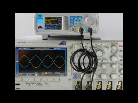 RD JDS6600 Series Digital Control Dual-channel DDS Function Signal Generator  8MHZ 25 HMHZ 40MHZ