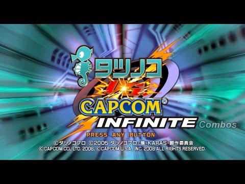 Tatsunoko vs. Capcom: Infinite                         Combos