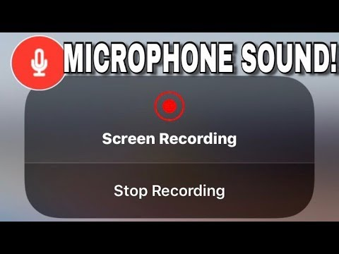HOW TO RECORD iPhone SCREEN WITH MICROPHONE SOUND? TUTORIAL!