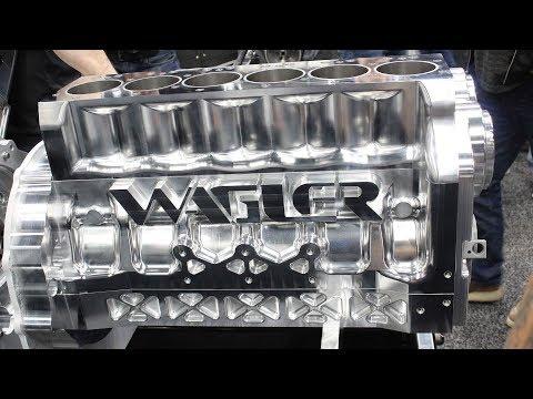 Wagler Competition Products - Diesel Billet Blocks at PRI 2017