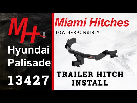 Trailer Hitch Install: 2020 Hyundai Palisade Curt 13427