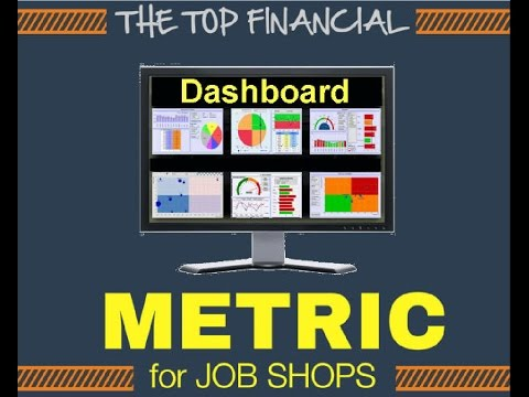 Financial Dashboard Example for Job Shops and Machine Shops
