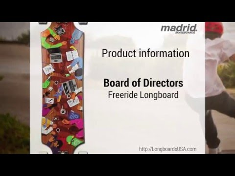 Madrid Board of Directors Longboard South Dakota