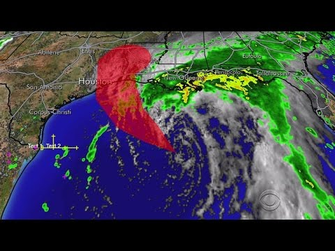 Tropical Storm Cindy takes aim at Gulf Coast