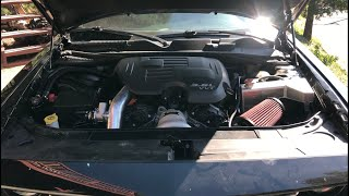 Dodge Challenger V6 Ripp supercharger install part 1