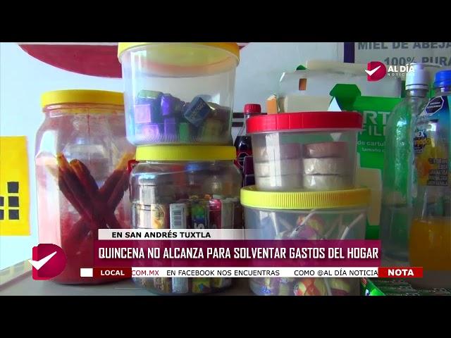 QUINCENA NO ALCANZA PARA SOLVENTAR GASTOS DEL HOGAR