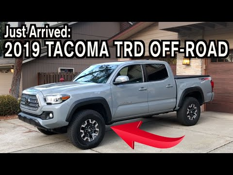 Just Arrived: 2019 Toyota Tacoma TRD Off-Road on Everyman Driver