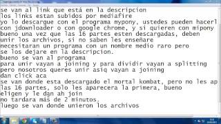 Como descargar Mortal Kombat Shaolin Monks en Español (PS2)