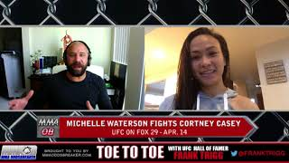 Frank Trigg pre-fight interview with UFC on FOX 29's Michelle Waterson
