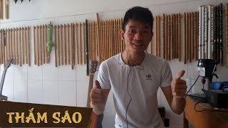 Hướng dẫn thổi sáo HỎI THĂM NHAU - Thắm sáo ( sáo si giáng )