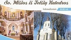 Sekmadienio Šv. Mišių iš Telšių katedros skaitiniai ir pamokslas