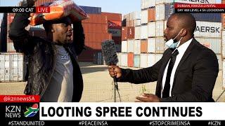 KZN Looting Saga