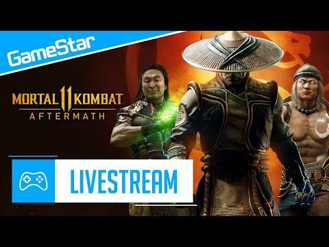 Robotzsaru Mindenkit Agyonver - Mortal Kombat 11 Aftermath Livestream | GameStar