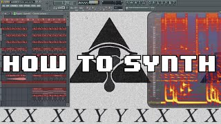 HOW TO MAKE XXYYXX /// FLUME [SYNTH]