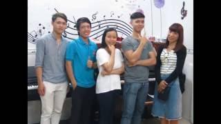 Khóa đệm Thánh ca (T7/2016) tại Lớp nhạc Sắc Màu.