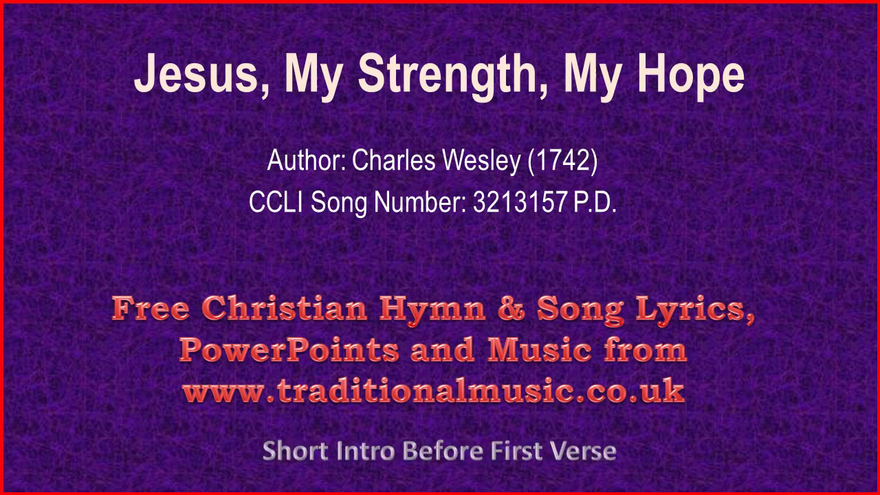 jesus and strength