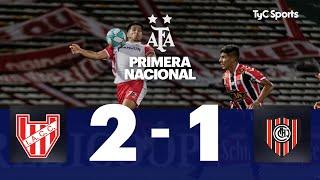 Instituto 2-1 Chacarita | Primera Nacional