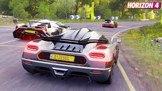 Forza Horizon 4 - Koenigsegg One:1 | Goliath Race Gameplay