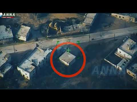 Уничтожение боевиков. Сирия