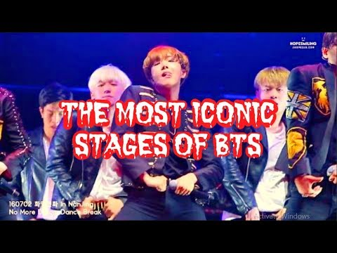 EVERY A.R.M.Y SHOULD KNOW - THE MOST ICONIC STAGE OF BTS' MEMBERS
