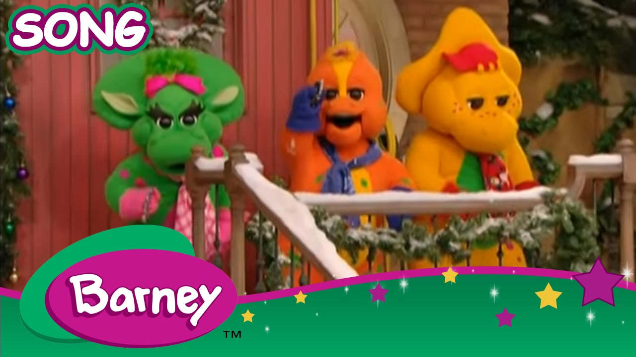 Barney - Jingle Bells (SONG) - YouTube