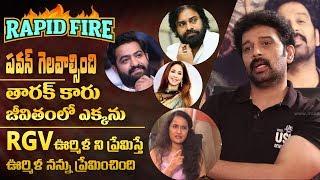 RAPID FIRE - JD Chakravarthy about Pawan Kalyan, Jr NTR, Mahes…