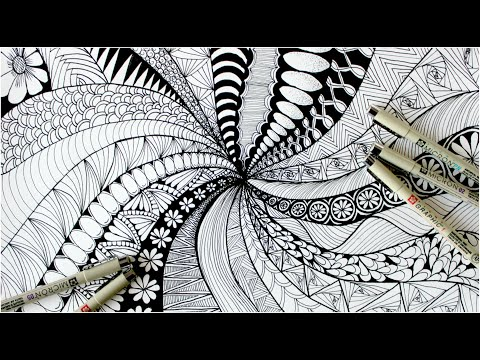 Person That Used To Self-Harm Shares Zentangle Technique That Helped Them Stop