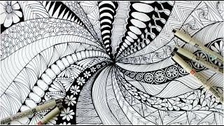 zen doodle zendoodles zentangle patterns doodles main bilder interesting library google abstract play charvi ashtekar previous