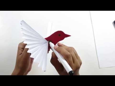 DIY Paper Craft Dove