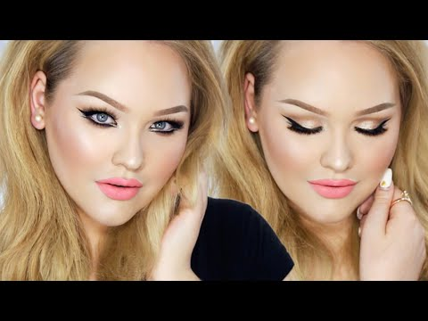 Sparkly Double Winged Glam - Summer Barbie Makeup