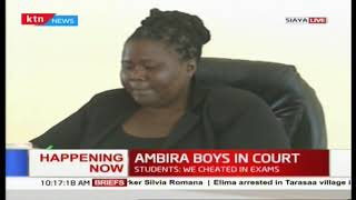 Ambira boys students in  court after video of them hurling insults at CSs goes viral