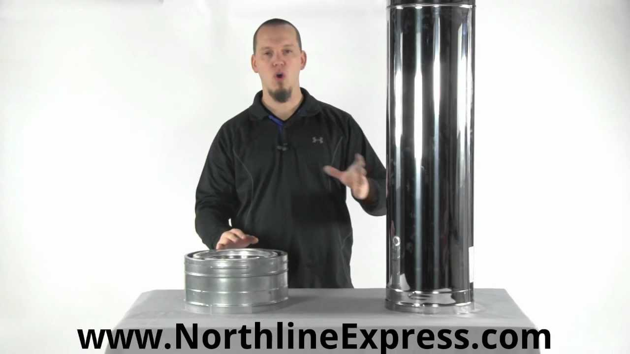 DuraPlus Chimney Pipe - Class A Triple Wall Pipe - YouTube