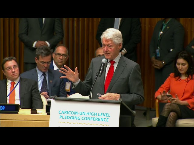 Bill Clinton on building a more climate-resilient community
