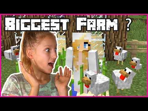 BIGGEST CHICKEN FARM EVER!!!