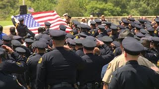 Officer Patrick Zamarripa laid to rest at Dallas-Fort Worth National Cemetery
