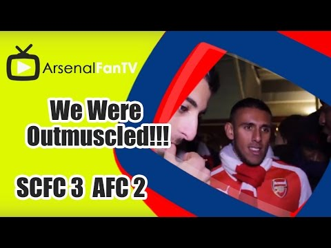 We Were Outmuscled!!! - Stoke City 3 Arsenal 2