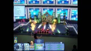 The Sims 3 Showtime - Big Show Venue Gig
