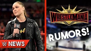 Ronda Rousey Leaving WWE Soon?! WrestleMania 35 Rumors! - WWE News Ep. 204