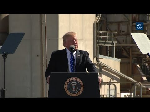 President Trump Participates in a Tax Reform Event with Workers from the Energy Sector