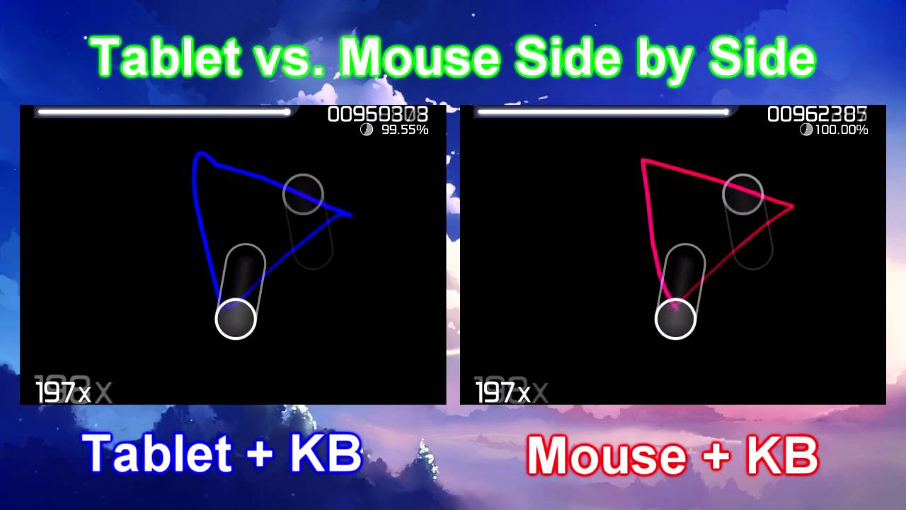 osu mouse vs tablet side by side comparison vagrant youtube. Black Bedroom Furniture Sets. Home Design Ideas