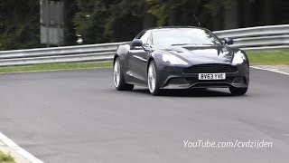 Aston Martin Vanquish S and Rapide S - Full Throttle Sounds!