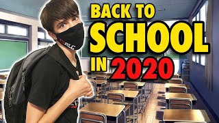 Going Back to School in 2020 vs Before