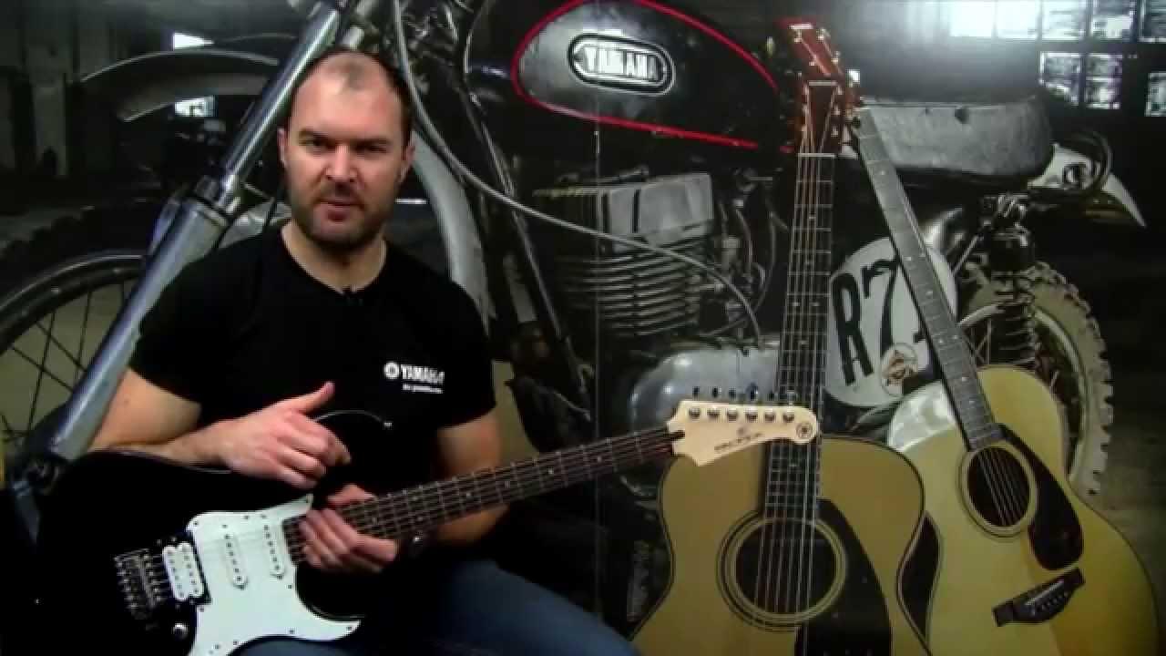 yamaha pac112v electric guitar youtube. Black Bedroom Furniture Sets. Home Design Ideas