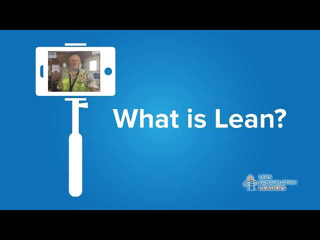 Joe Page - What is Lean?