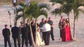 АМЕРИКА СВАДЬБА НА ПЛЯЖЕ Wedding on the beach 12.10.2012