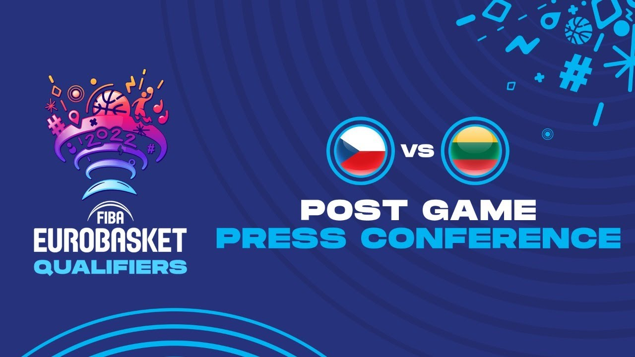 Czech Republic v Lithuania - Press Conference - FIBA EuroBasket Qualifiers 2022